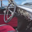 Постер, плакат: 1963 Red Ford Fairlane Interior