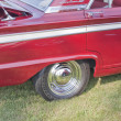 1963 Red Ford Fairlane Side panel — Photo