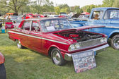 1963 Red Ford Fairlane — Stock Photo
