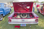 1963 Red Ford Fairlane Rear view — Stock Photo