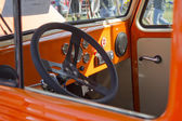 1951 Willys Utility Station Wagon Interior — Stock Photo