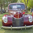 Stock Photo: 1940 Ford DeLuxe Front View