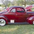 Stock Photo: 1940 Ford DeLuxe Side view