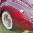 Stock Photo: 1940 Ford DeLuxe Rear Panel