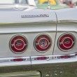 White Chevy Impala SS Tail Lights — Stock Photo