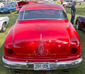 Red 1950 Merc Rear View — Стоковое фото
