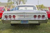 White Chevy Impala SS Rear View — Foto Stock
