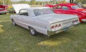White Chevy Impala SS — Stock Photo