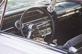 White Chevy Impala SS Interior — Stock Photo