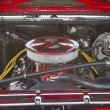 ������, ������: Red Chevy Chevelle SS Engine