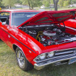 Постер, плакат: Red Chevy Chevelle SS