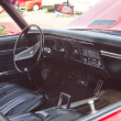 Постер, плакат: Red Chevy Chevelle SS Interior