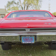 Постер, плакат: Red Chevy Chevelle SS Rear View