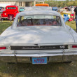 Постер, плакат: 1966 White Chevy Chevelle SS Rear view
