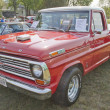 Stock Photo: 1969 Ford F100 Ranger Truck Front View