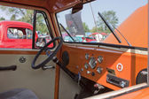 1951 Willys Utility Station Wagon Interior Passenger View — Stock Photo