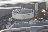 1963 chrysler motor de newport — Foto de Stock