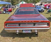 1969 Dodge Coronet RT Rear View — Stock Photo