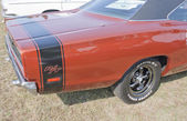 1969 Dodge Coronet RT Back Panel — Stock Photo