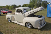 1950 Off White Ford Pickup — Stock Photo
