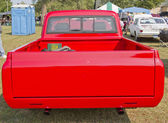 1970 Red Chevy Truck Rear View — Stock Photo