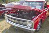 1970 Red Chevy Truck Front view — Stock Photo