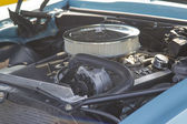 1968 Pontiac Firebird Engine — Stock Photo