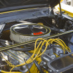 Постер, плакат: 1966 Ford Mustang Chop Top Engine
