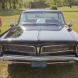 Постер, плакат: 1963 Black Pontiac Bonneville Front View