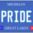 Pride Michigan — 图库照片