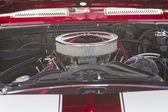 1968 雪佛兰 camaro 引擎 — 图库照片