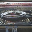 1967 Chevrolet Chevelle SS Engine — Stock Photo