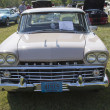 1959 Pink Rambler Front View - Stock Photo