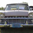 1959 Pink Rambler Grill View - Stock Photo