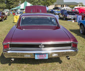 1967 Chevrolet Chevelle SS Rear View — Stock Photo