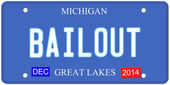 Bailout Michigan — Stock Photo