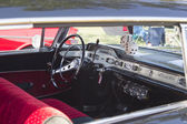 1955 Chevy Impala Black Interior — Stock Photo