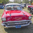 ������, ������: Red 1957 Chevy Bel Air Front View