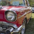 ������, ������: Red 1957 Chevy Bel Air Profile view
