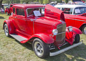 Red 1930 Ford Coupe — Stock Photo