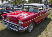 Red 1957 Chevy Bel Air — Stock Photo