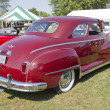 1948 DeSoto Car Rear View - Stock Photo