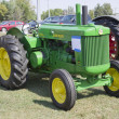 1950 John Deere Tractor - Stock Photo