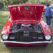 Red Ford Maverick Grabber Front View - Stock Photo