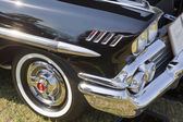 1958 Black Chevy Impala Side Panel — Stock Photo