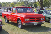 1972 Red GMC Truck — Stock Photo