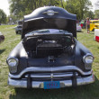 Stock Photo: Black 1952 Oldsmobile Super 88 Front View