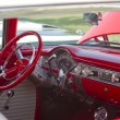 ������, ������: Red White 1955 Chevy Bel Air Interior