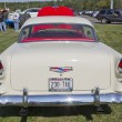 Red White 1955 Chevy Bel Air Rear View — Stock Photo