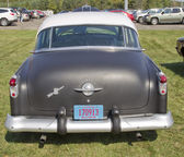 Black 1952 Oldsmobile Super 88 Rear View — Stock Photo
